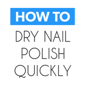 How To Dry Your Nail Polish icon