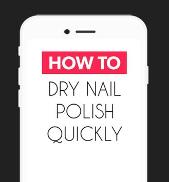 How To Dry Your Nail Polish screenshot 1
