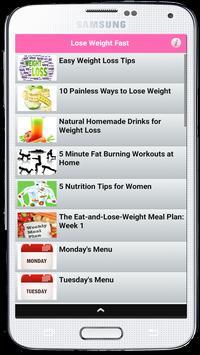 Secrets of Weight Loss screenshot 1
