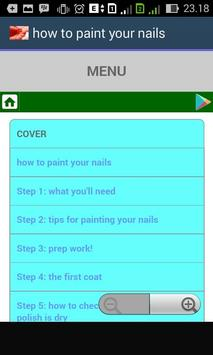 How to paint your nails apk screenshot