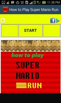 How to Play Super Mario Run poster