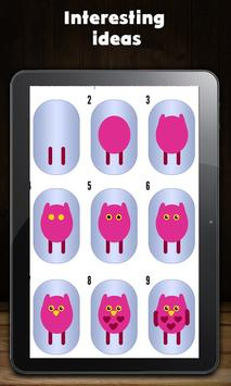 Baby animals on your nails apk screenshot