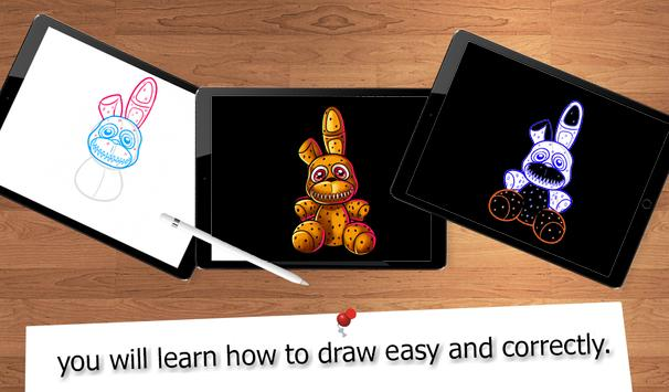 Drawing FNAF Lessons apk screenshot