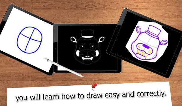 6 Schermata Drawing FNAF Lessons