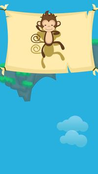 Falling Monkey Adventure screenshot 3