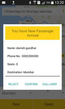 Taxi 4 Share Driver apk screenshot