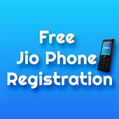 Free Jio Phone Registration icon