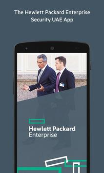 HPE Security ME & Africa poster
