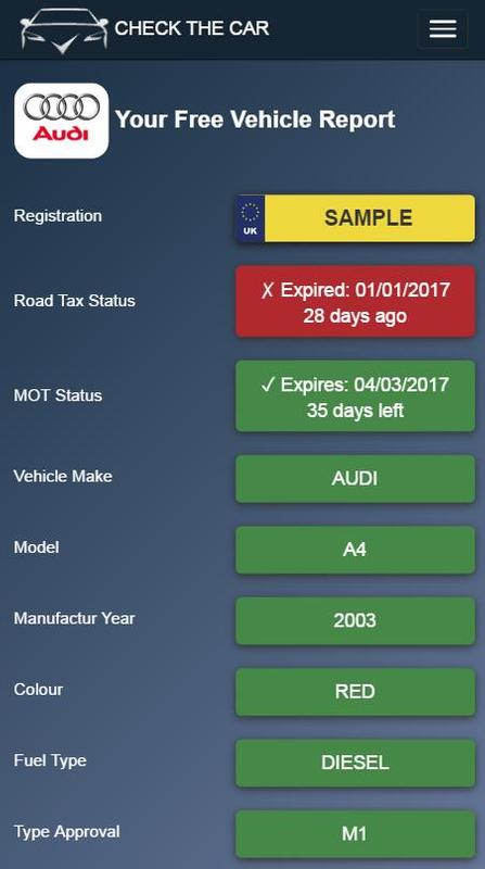 Experian Car Check Free