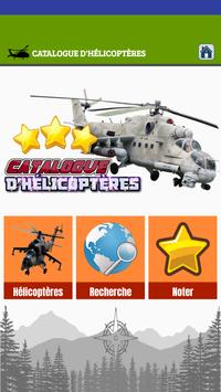 Catalogue Helicoptere poster