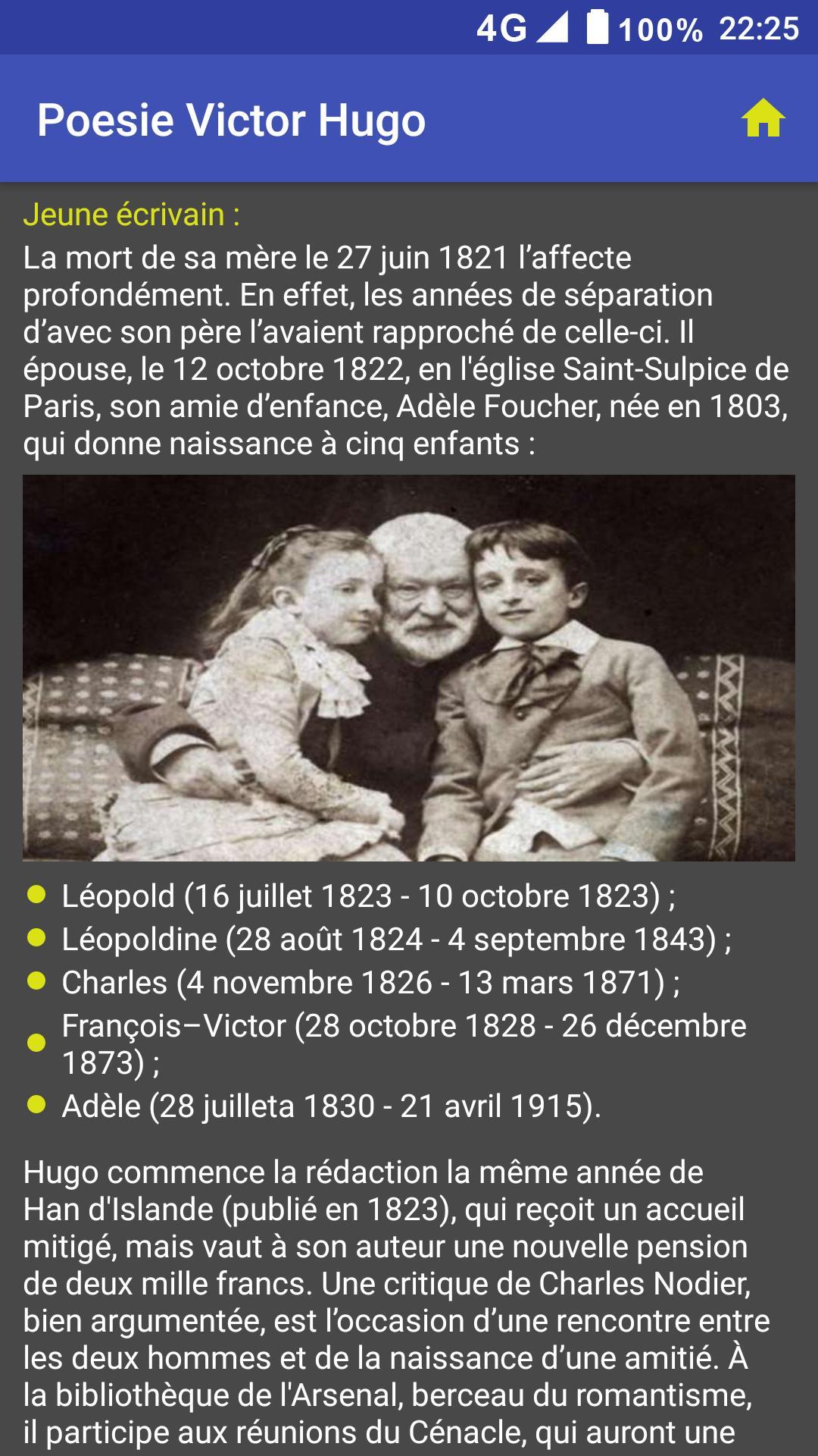 Poésie Victor Hugo For Android Apk Download