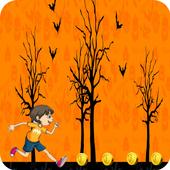 Boy Adventure Run Halloween icon