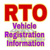RTO Vehicle registration information icon