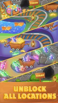 Diamond Treasure Crush - Match 3 Connect screenshot 6
