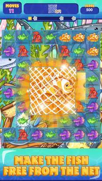 Sea Treasures - Match 3 Connect screenshot 4