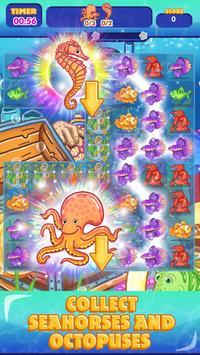 Sea Treasures - Match 3 Connect screenshot 5