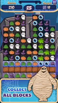 Match 3 - Spooky Hotel Pro screenshot 1