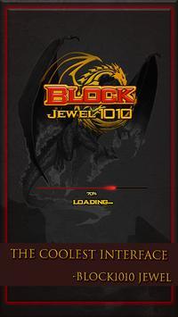 Block jewel 1010 poster