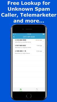 ID Call: Caller ID Name & Address+ screenshot 1