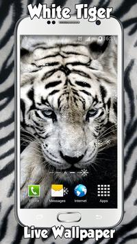 White Tiger Live Wallpaper screenshot 3