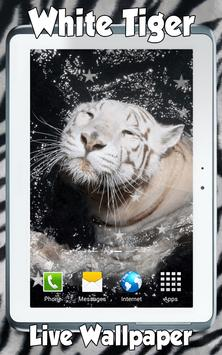 White Tiger Live Wallpaper screenshot 4