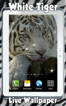 White Tiger Live Wallpaper screenshot 5