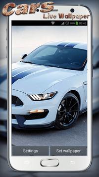 Cars Live Wallpaper screenshot 3