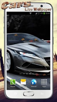 Cars Live Wallpaper apk screenshot
