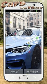 Cars Live Wallpaper screenshot 8