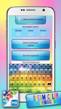 Dream Color Keyboard apk screenshot