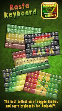Rasta Keyboard poster