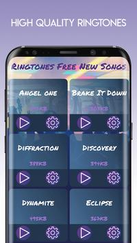 Ringtones Free New Songs screenshot 2