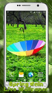 Spring Rain Live Wallpaper apk screenshot