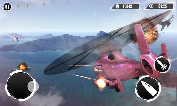 Real Gunship Battle Combat War Sim 2019 스크린샷 1