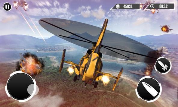 Real Gunship Battle Combat War Sim 2019 스크린샷 2