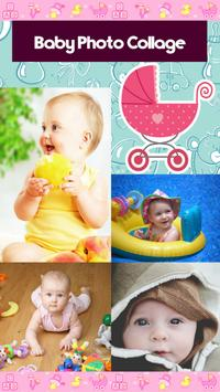 Baby Photo Collage poster