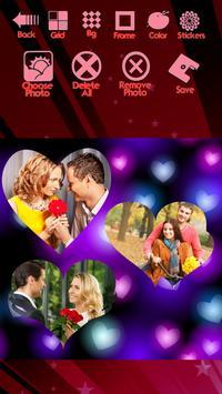 Romantic Photo Collage screenshot 9