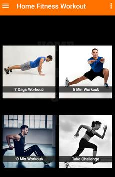 Weight loss app - fitness program at home poster