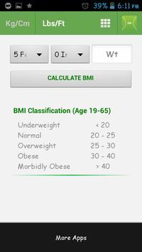 BMI screenshot 1
