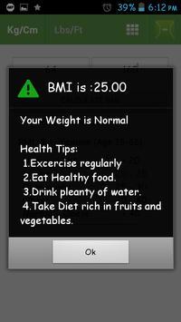 BMI screenshot 3