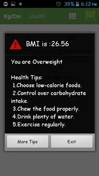BMI screenshot 4