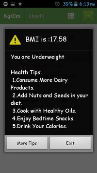 BMI screenshot 5