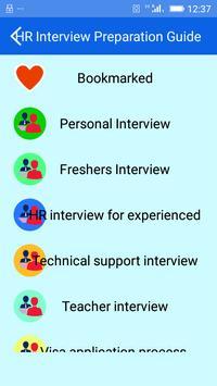 HR Interview Preparation Guide screenshot 1