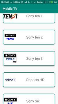 Sports Live TV : Cricket Live and Football Live screenshot 1