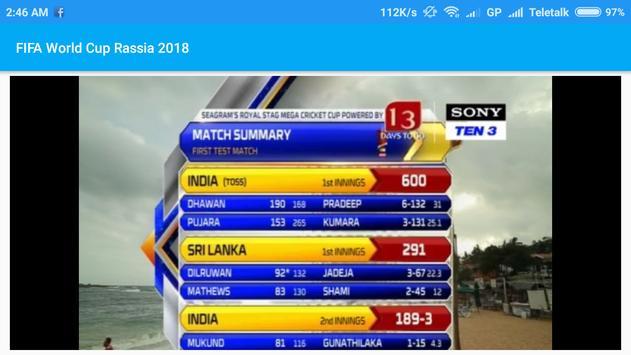 Sports Live TV : Cricket Live and Football Live screenshot 2