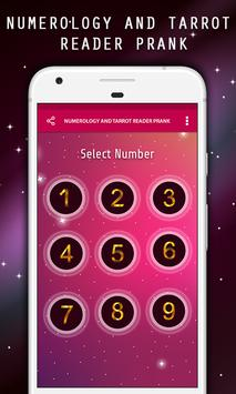 Numerology and Tarrot Reader Prank apk screenshot