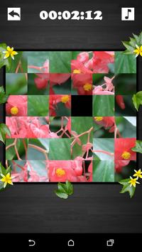 Exciting Puzzle - Flowers screenshot 3