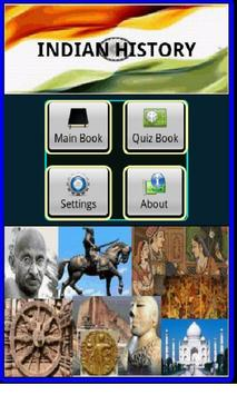 Indian History, Book & Quiz poster