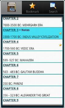 Indian History, Book & Quiz screenshot 1