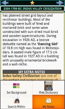Indian History, Book & Quiz screenshot 2